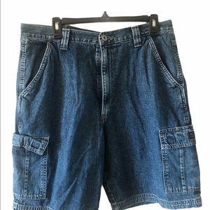 Men's Short Jeans waist 17 inches size 34